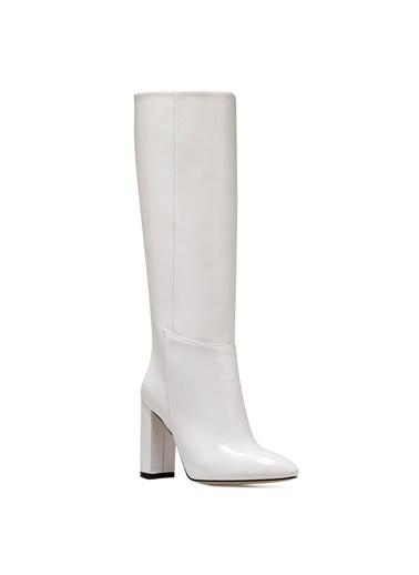 Nine West Çizme Beyaz